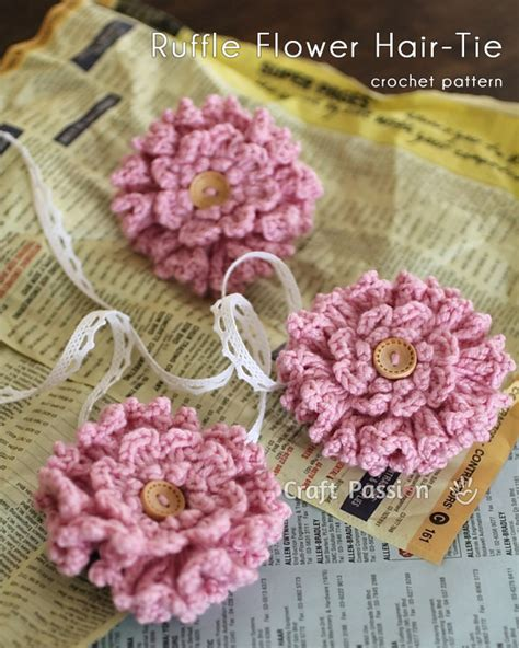 free patterns and instruction on making flower hair clips crocheting hair back braid patterns for crocheting crochet