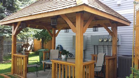 valley canvas and awning kelowna backyard structures gazebos for decks arabment com