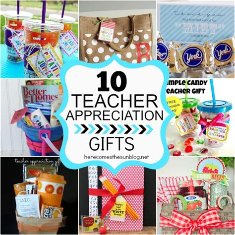 gifts for teachers 10 easy appreciation gifts here comes the sun