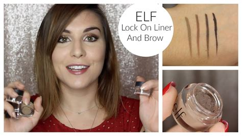 E L F Lock On Liner And Brow lock on liner and brow review bailey b