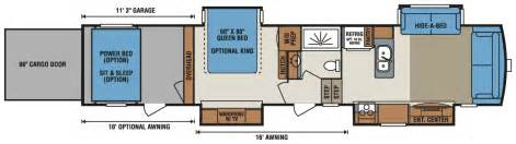 5th wheel toy haulers floor plans 40 by 40 floorplans joy studio design gallery best design