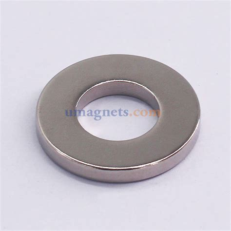 1 quot od x 1 2 quot id x 1 8 quot thick n42 neodymium ring magnets