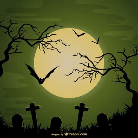 imagenes de halloween tumbas fondo de cementerio para halloween descargar vectores gratis