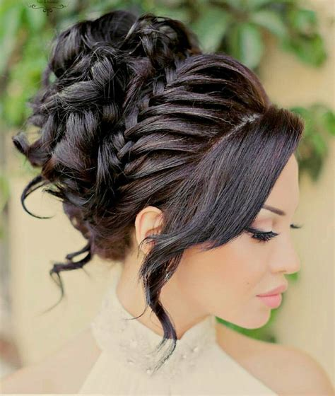 Hair Hairstyles by 45 Chic Quinceanera Hairstyles Best Styles For Your