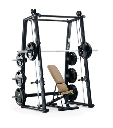 bench on smith machine pulse fitness origin counterbalanced smith machine