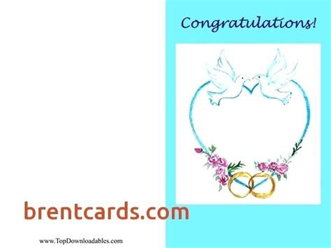 congratulations on your engagement card template congratulations wedding card template size of