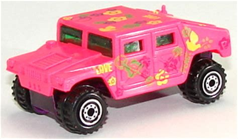 Hotwheels Humvee 598 u s charities racing team humvee orange track diecast