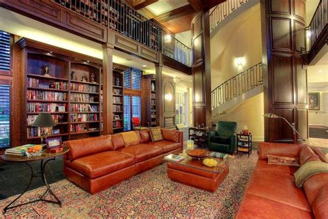 living room with library 54 lofty loft room designs