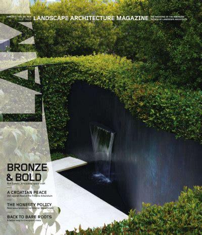 Landscape Architecture Magazine Free Landscape Architecture Magazine June 2011 187 Free Pdf
