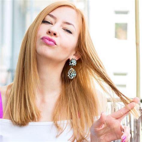 rambut warna blonde warna rambut yang bagus sesuai warna kulit cambon