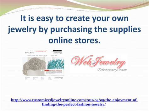make your own jewelry store ppt recommended fahion jewelry for you