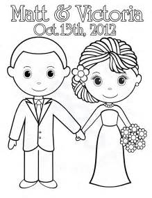 coloring page wedding collections