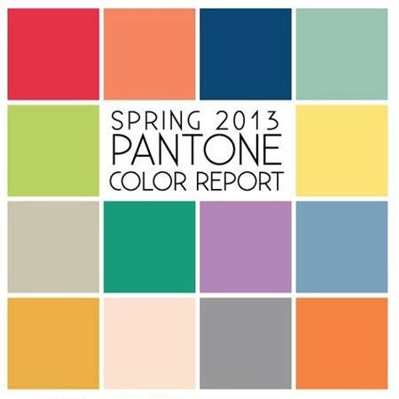 sping colors spring 2013 color palette refuse to sink
