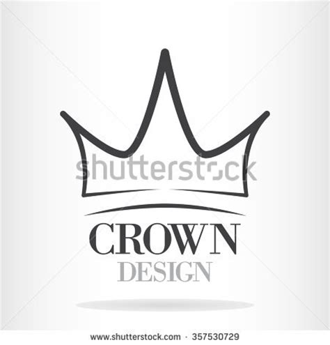 vector crown logo design abstract logo template vector abstract crown stock images royalty free images vectors