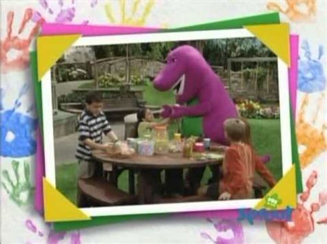 barney five kinds of credits pbs pbs sprout barney 5 images