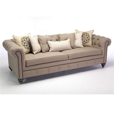 Overstock Tufted Sofa jar designs alphonse tufted sofa