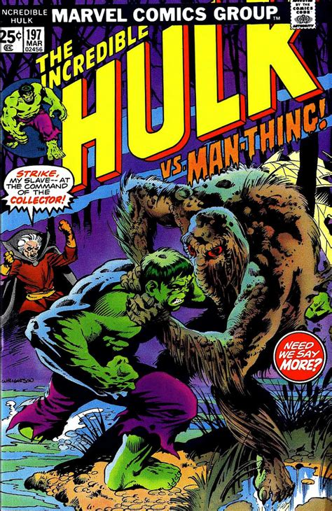 the thing marvel comic book man thing marvel giant size marvel monster mondays the