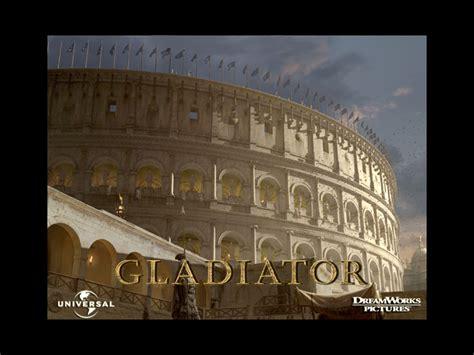 film gladiator rome gladiator movie colosseum outside world ancient