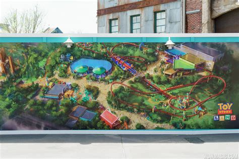 PHOTOS   New Toy Story Land concept art shows changes from the original announcement