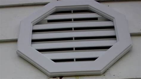 attic fan louver cover installation of attic gable vent fans gable vents