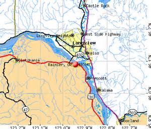 rainier oregon or 97048 profile population maps real