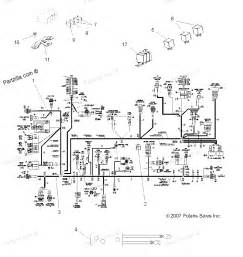polaris atv parts 2008 a08tn50ea sportsman x2 500 efi electrical harnesses diagram