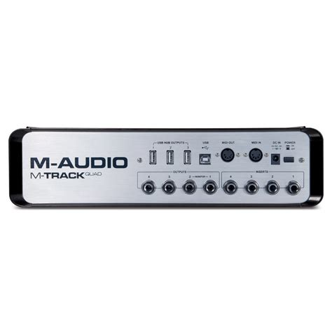 Channel M m audio m track usb audio interface at gear4music