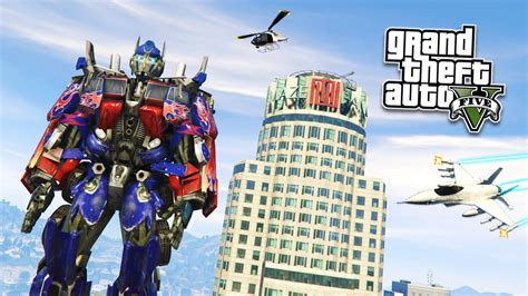 mod gta 5 transformers gta 5 pc mods epic quot optimus prime quot mod gta 5