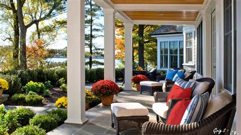 Rear Patio Designs Dreamy Back Porch Ideas Traditional Rear Porch Ideas