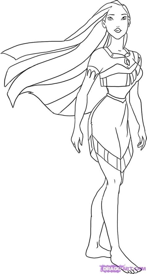 Pocahontas Coloring Pages Kids Coloring Page Disney Princess Pocahontas Coloring Pages