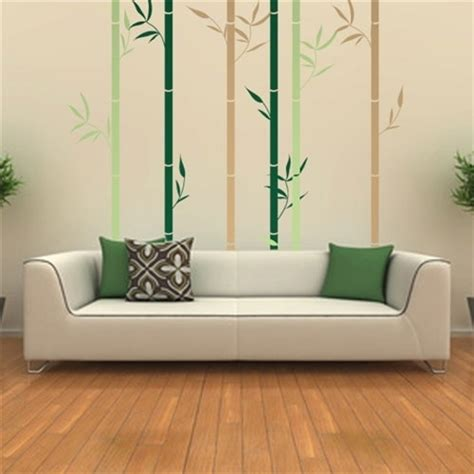 bamboo wall stickers bamboo forest wall decal