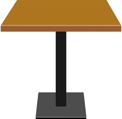 Folding Dinner Table by Small Wood Table Clip Art At Clker Com Vector Clip Art