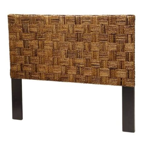 Basket Weave Headboard by Island Collection Archives Sea Winds Trading Co