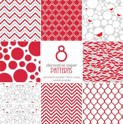 printable christmas paper patterns free holiday printables peppermint twist hostess with
