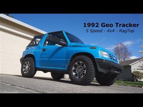 insane chevy powered geo tracker!!!! 2015 slammin & ja