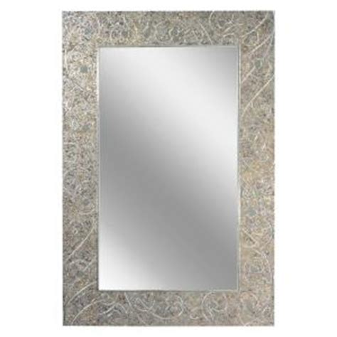 deco mirror mirrors 36 in x 24 in etched geometric wall deco mirror 24 in x 36 in mercury frameless mirror