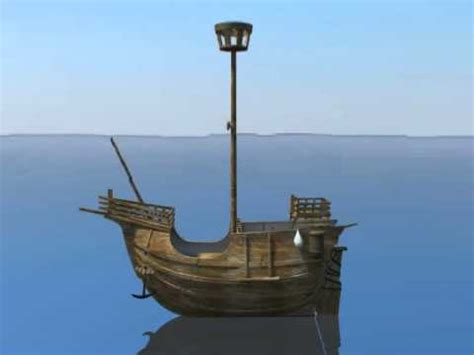 3d model of old miniature pirate ship youtube