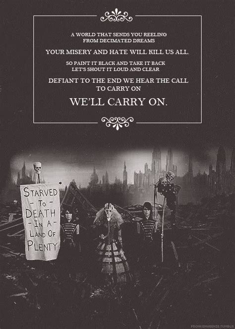 black parade lyric 114 best images about gerard way quotes on pinterest