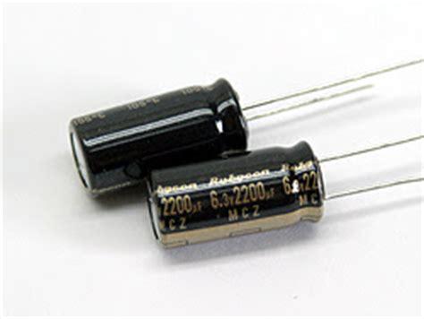 que es un capacitor supresor capacitor electrico