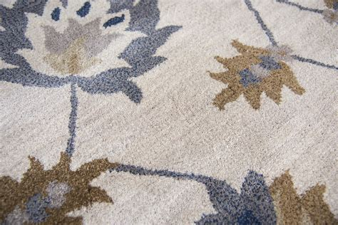 nature pattern area rugs valintino floral trellis pattern wool area rug in natural