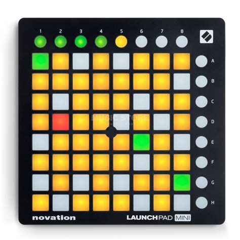 Novation Launchpad Mk2 2 novation launchpad mini mk2