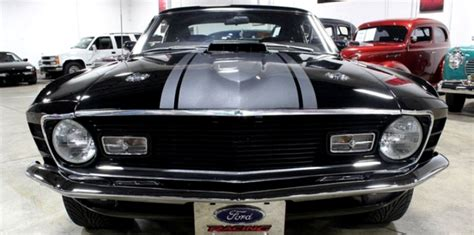 1970 mustang mach 1 black beautiful 1970 ford mustang mach 1 restomod cars