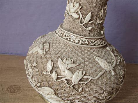 Ivory Dynasty Vase vintage vase ivory dynasty brass vase by
