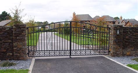 dual swing gate domestic swing gates automatic doors and gates