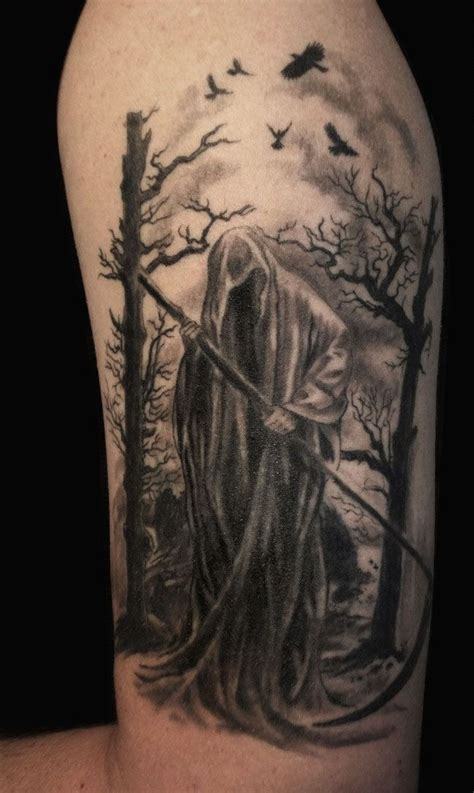 grim reaper tattoos designs ideas and meaning tattoos