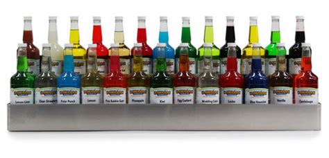 Snow Cone Bottle Rack by Tier Stainless Steel Speed Rack 26 Quarts 1 800