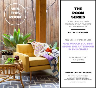 Win Furniture Sweepstakes - gorman win furniture giveaway valued at 4 350 australian competitions