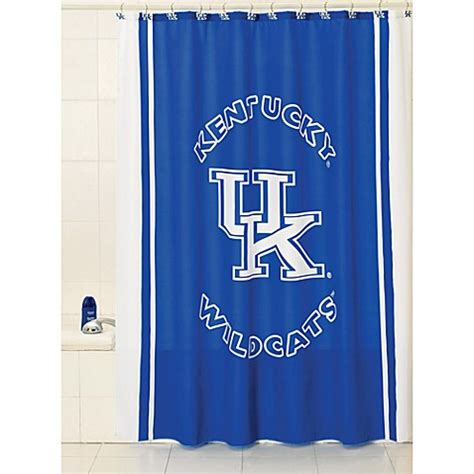 University Of Kentucky 71 Inch X 71 Inch Shower Curtain