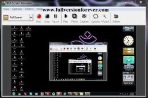 full version screen capture software free download bsr screen recorder crack full version free download