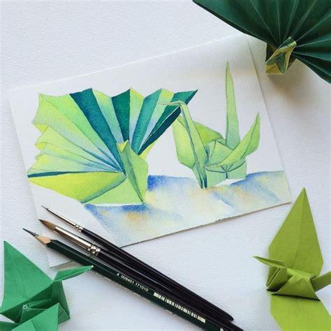 Origami Paintings - origami crane paintings www pixshark images